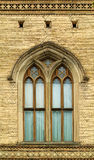 Gothic window. Old brickwall with gothic window Royalty Free Stock Photos