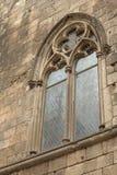Gothic Window (Barcelona) Stock Image