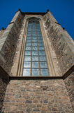 The gothic window. Royalty Free Stock Photography