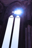 Gothic window of a church Stock Photography