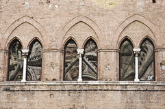 Gothic windows Royalty Free Stock Photo