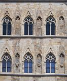Gothic windows Stock Photo