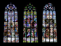 Gothic windows - collage Royalty Free Stock Image