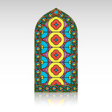 Gothic windows. Vintage frames. Church stained-glass windows Royalty Free Stock Photos