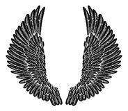 Gothic Wings Royalty Free Stock Photo