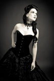 Gothic woman. Portrait of a gothic woman Stock Photo