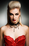 Gothic woman. Picture of a Gothic woman Stock Image