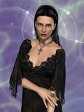 Gothic woman Royalty Free Stock Image