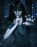 Gothic woman Stock Photos
