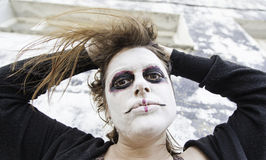 Gothic woman mask Royalty Free Stock Photography