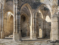 Gothics ruins. Ruins of a Gothic church in Palencia, Spain Stock Image