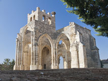 Gothics ruins. Ruins of a Gothic church in Palencia, Spain Royalty Free Stock Photo