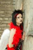 Gothik  fashion beauty Stock Photo