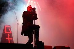 Gothminister an der Welle Gotik Treffen Stockfoto