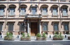 gotic房子en罗马 免版税库存照片