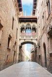 Gotic quarter of Barcelona Royalty Free Stock Photo