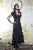 Goticmeisje stock afbeeldingen