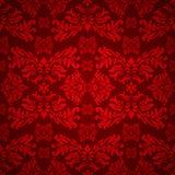 Gotico floreale rosso Immagine Stock Libera da Diritti