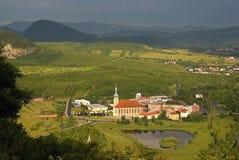 Gotique church in Most, Czech republic Stock Images