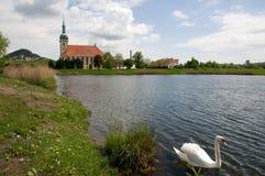 Gotique church in Most, Czech republic Stock Photo
