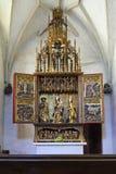 Gotisch Altaar stock fotografie