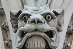 Gotisch dierlijk gezicht Royalty-vrije Stock Foto's