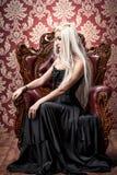 Gotisch en blonde Stock Fotografie