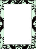 Gotisch frame Royalty-vrije Stock Afbeeldingen
