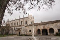 Gotisch klooster royalty-vrije stock afbeeldingen