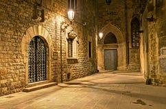 Gotisch kwart, Barcelona, Spanje Royalty-vrije Stock Afbeelding