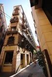 Gotisch kwart van Barcelona Stock Afbeelding