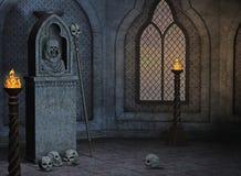 Gotisch landschap Stock Afbeelding