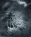 Gotisch landschap 58 royalty-vrije illustratie