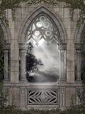 Gotisch landschap 67 Stock Foto's
