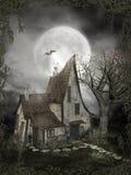 Gotisch landschap 68 vector illustratie