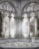 Gotisch landschap 97 Royalty-vrije Stock Foto's
