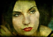Gotisch meisje stock afbeeldingen