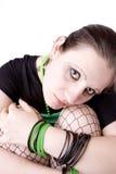 Gotisch Meisje Stock Foto's