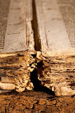 Gotisch oud boek Royalty-vrije Stock Fotografie