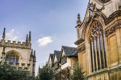 Gotisch Oxford Royalty-vrije Stock Afbeelding