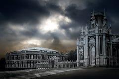 Gotisch paleis Royalty-vrije Stock Afbeeldingen