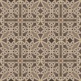 Gotisch plafond (naadloos patroon) Royalty-vrije Stock Fotografie