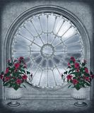 Gotisch venster 2 Royalty-vrije Stock Afbeelding