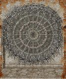 Gotisch venster 3 vector illustratie