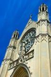 Gotische Architectuur in blauwe hemel Royalty-vrije Stock Fotografie