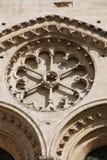 Gotische architectuur in Notre Dame Parijs Stock Foto's