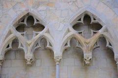 Gotische architectuurdetails Stock Fotografie