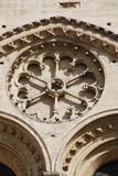 Gotische Architektur bei Notre Dame Paris stockfotos