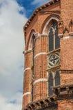 Gotische Architektur in Venedig stockfotografie
