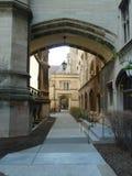 Gotische Art-Eingangsweise Lizenzfreies Stockbild